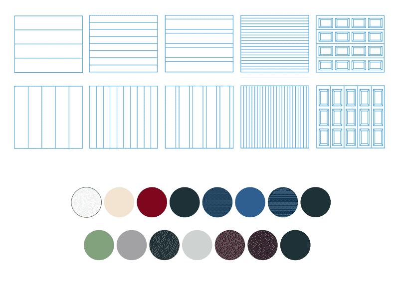 porte-de-garage-aspect-des-panneaux-et-couleur